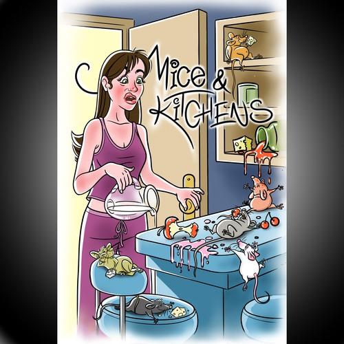 Mice in Kitchen