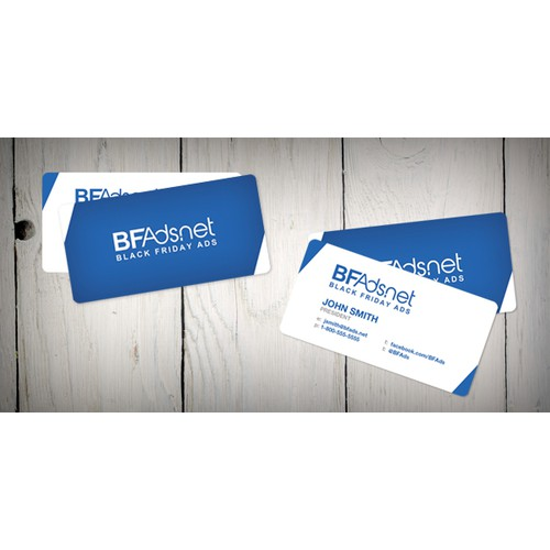 Business Card for an Online Shopping Site