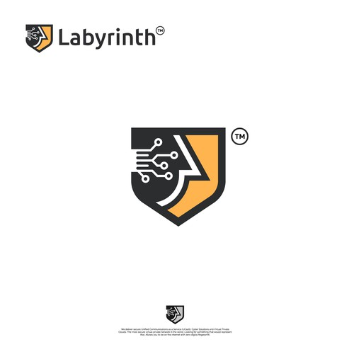 "Bold, Unique and Creative logo for ""Labyrinth"""