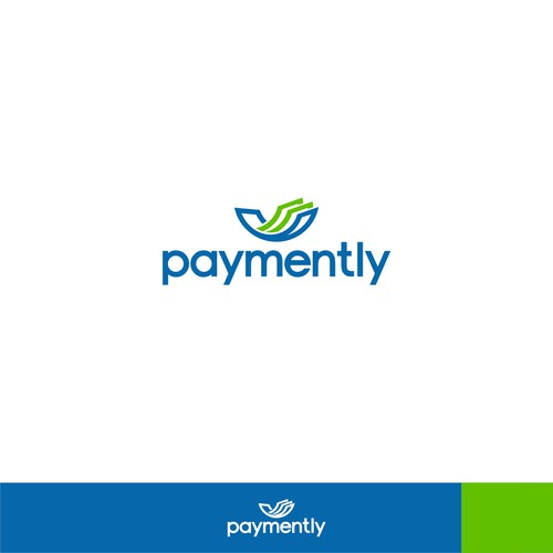 "Logo concept for ""paymently"""