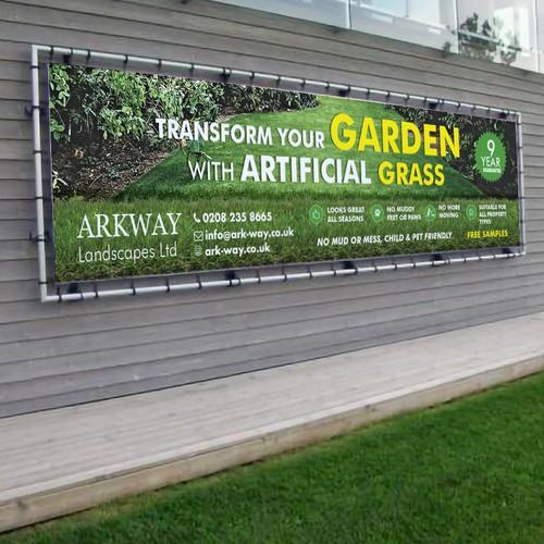 Vinyl Banner Artifical Grass company