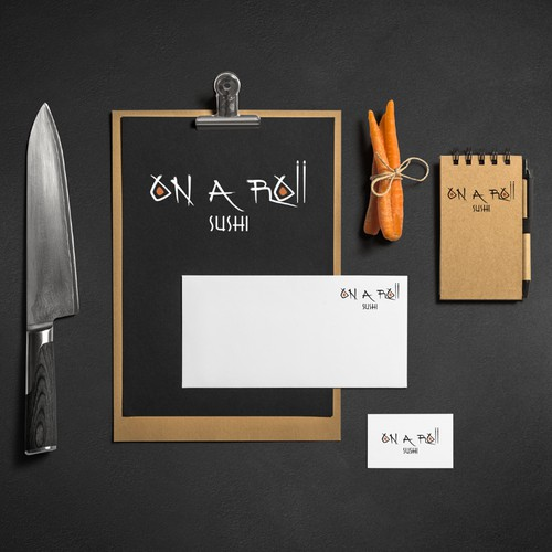 Creative logo for Japanese restaurant