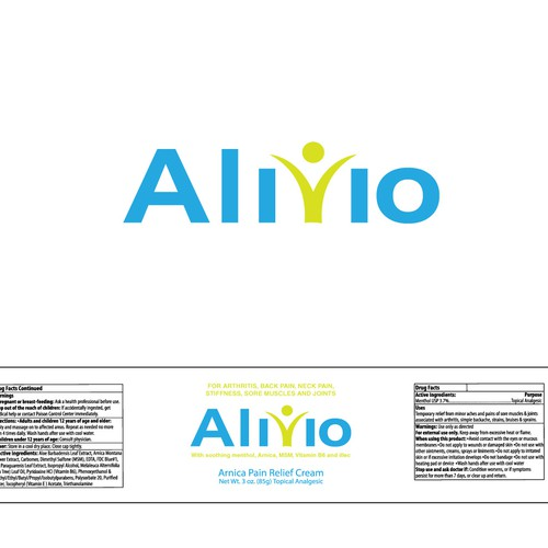 Alivio Cream Label