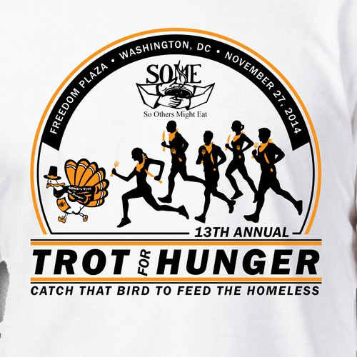 Trot for Hunger T-Shirt