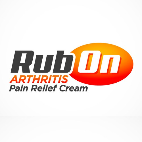 Logo Creation & Design for Pain Relief Cream