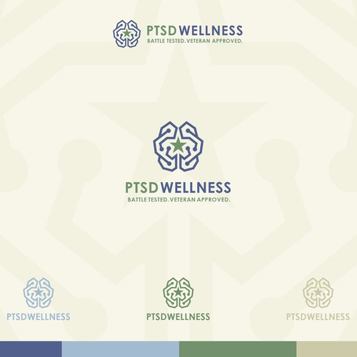 Logo & Brand Identity Design for PTSD Wellness