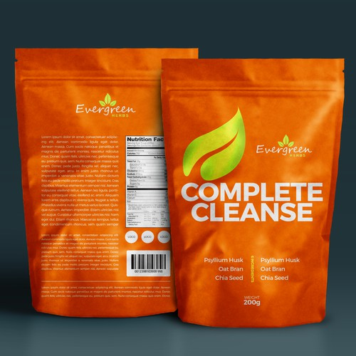Evergreen Herbs Complete Cleanse Label