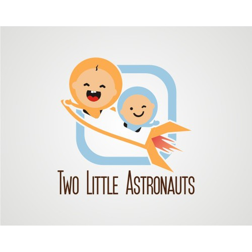 Two Little Astronauts needs a new logo