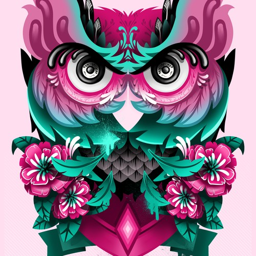 Owl (design for 2 madison gallery Kemang Jakarta)