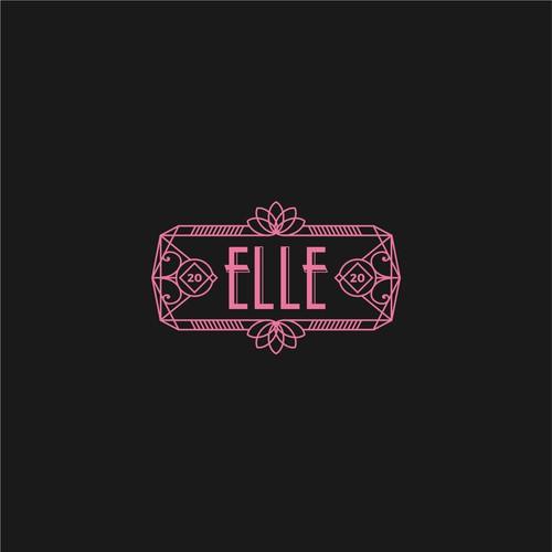 Elle - Art Deco Logo