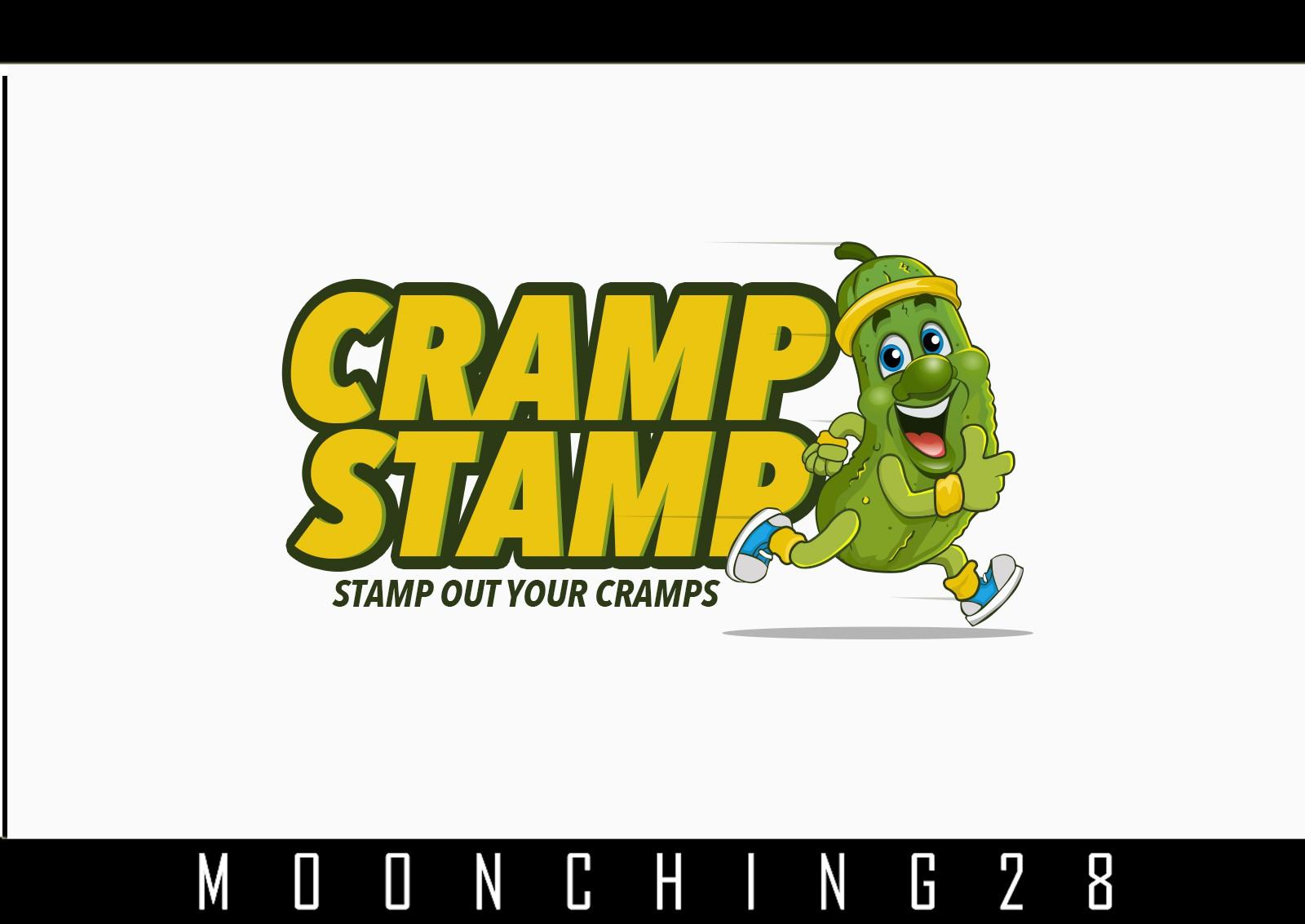 Create logo for a pickle juice based endurance formula for Cramp Stamp!