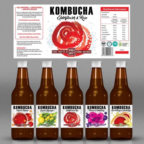 Natural drink label