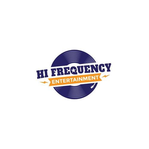 Logo for an entertainment company