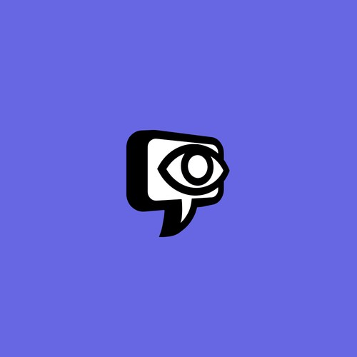 chat bubble icon/logo