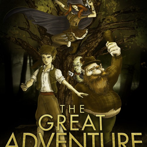 Bring to life the charismatic characters, and trodd along on The Great Adventure !!
