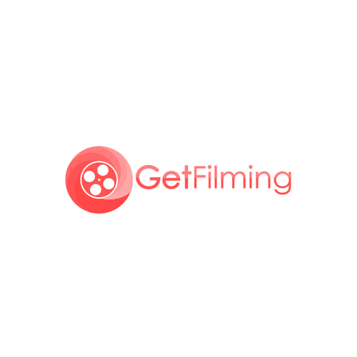 Create a logo for an online film school and community.