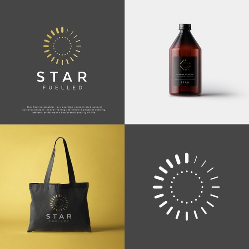 Branding for supplements company