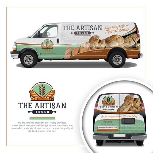 The Artisan Truck Wrap