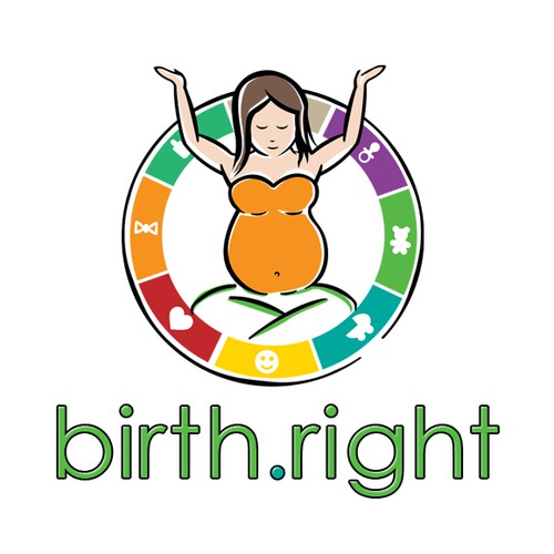 Create an awesome, noticeable and approachable logo for birth.right