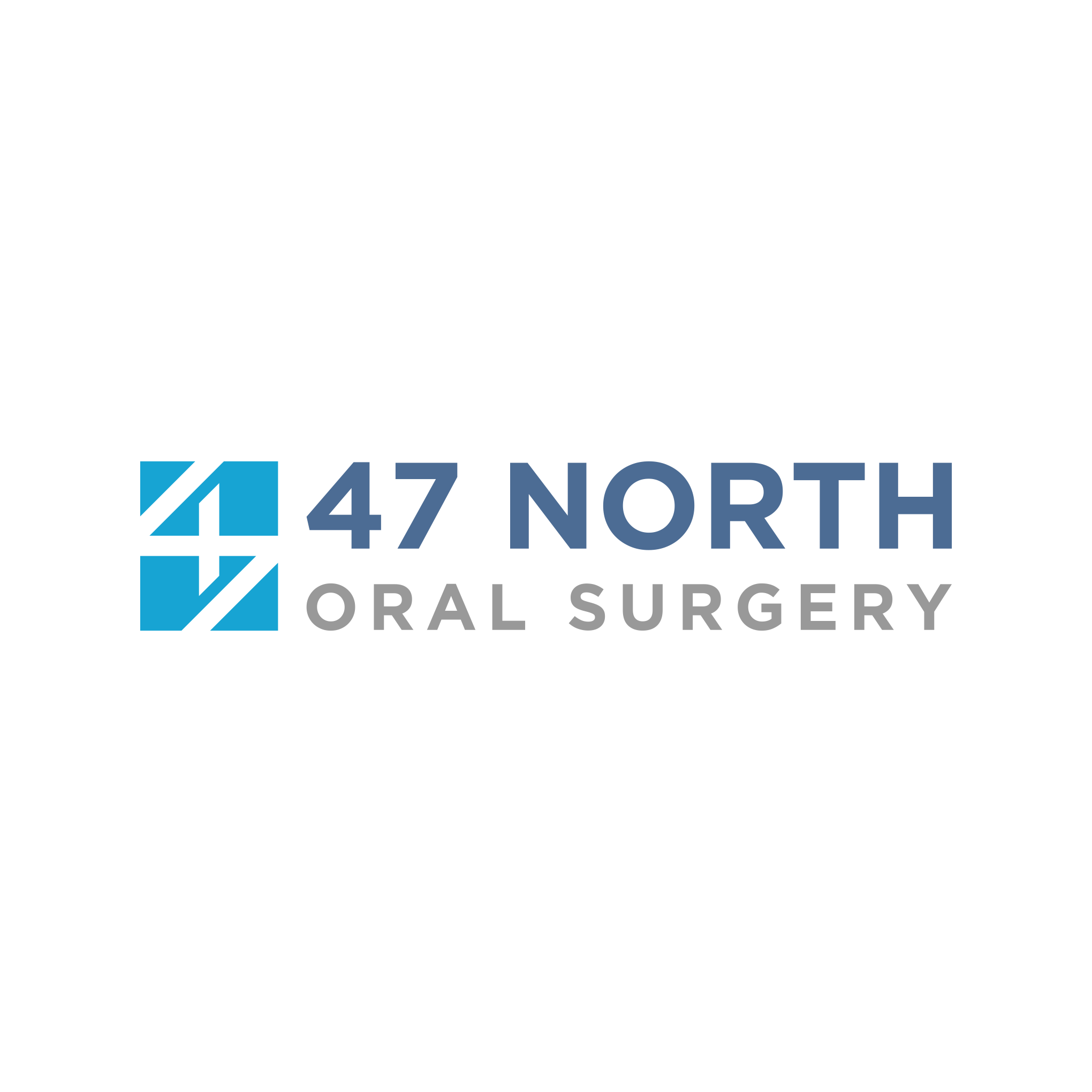 Fresh Modern Simple Logo for 47 North Oral Surgery