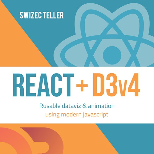 React + D3v4 ebook cover