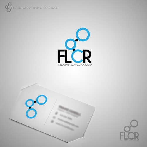 Help Finger Lakes Clinical Research and abbreviated version FLCR (this is the second of 2 contests) with a new logo