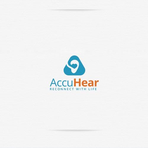 AccuHear Logo design