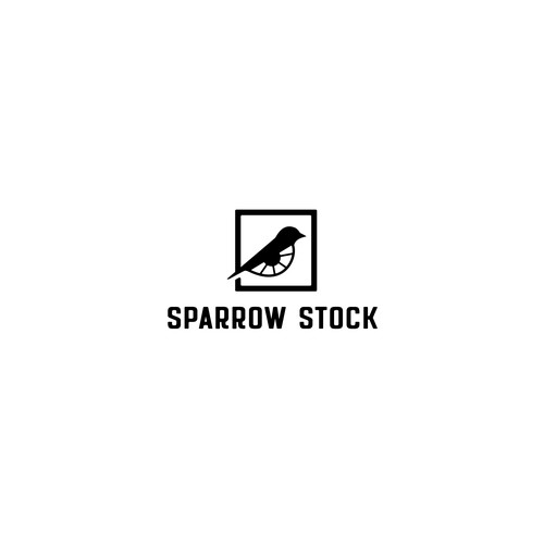 Sophisticated logo for Sparrow Stock  Company.