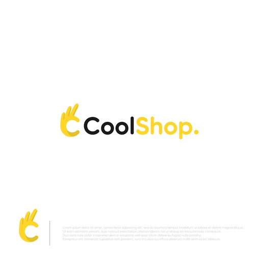 Modern and Iconic Logo for CoolShop company.