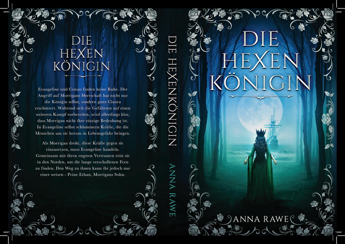 Cover for a fantasy novel sequel (eBook and Print)