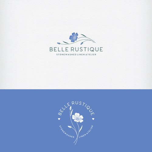 beautiful and authentic logo, with just a hint of luxe or freshness