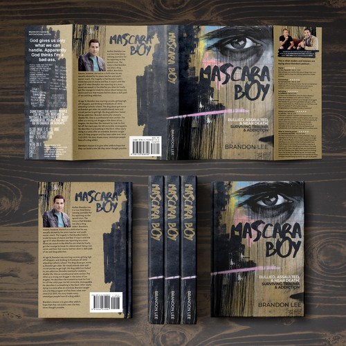 Book cover for Mascara Boy