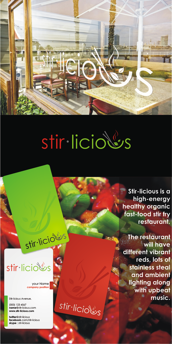 New logo wanted for Stir-licious