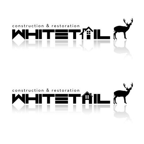 Help Whitetail Construction and Restoration with a new logo and business card