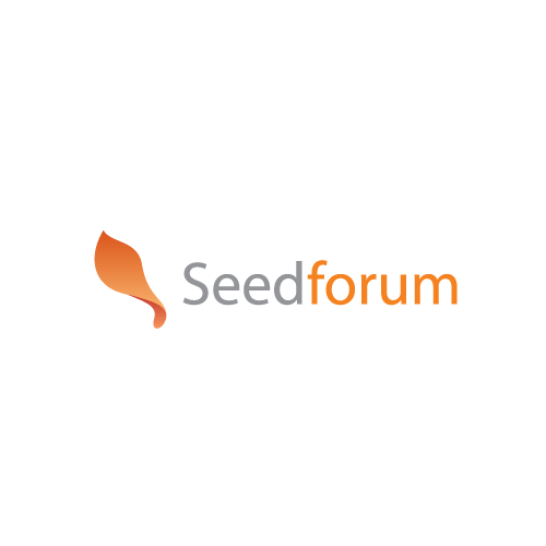 Create an amazing logo for Seed Forum - the world's largest entrepreneur - investor matching network