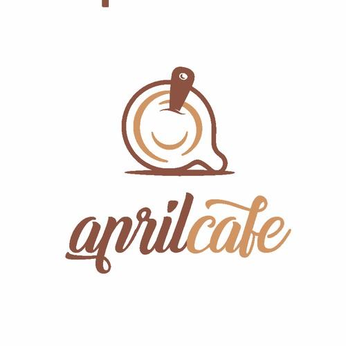 April Cafe logo