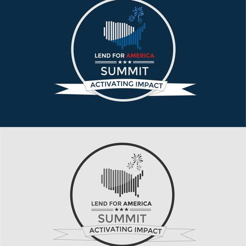 Create a compelling logo for the premiere conference for student-ledmicrofinance in the US