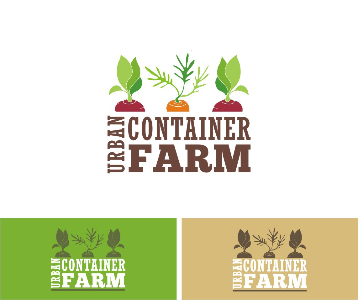 Create the next logo for Urban Container Farm