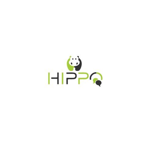 Logo Design For Hippo Chat App