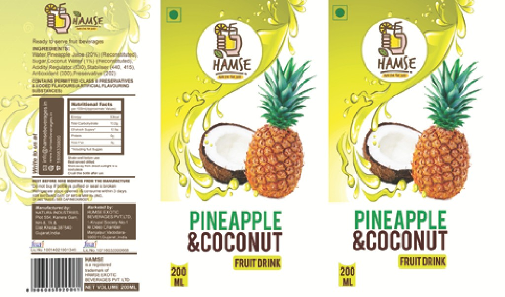 DESIGN A NEW LABEL FOR THE MOST AWESOME FRUIT DRINK IN INDIA