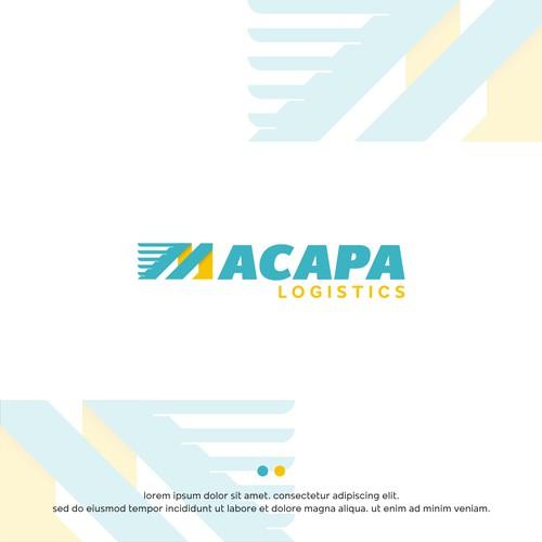 macapa logistics concept logos
