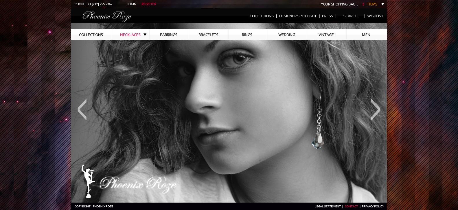 PhoenixRoze needs a new website design