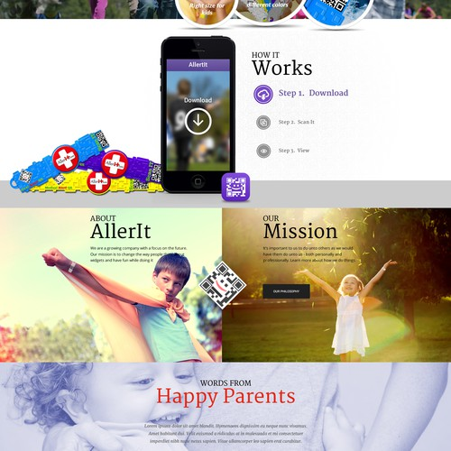 Allerit, Medical QR Alert bracelets for Kids NEEDS YOUR CREATIVE JUICES!