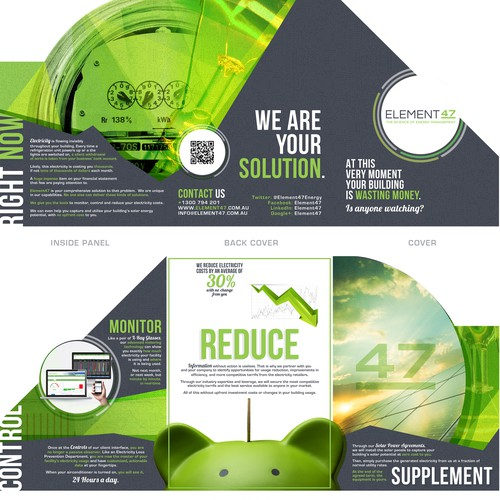 Element47 DieCut Brochure Design