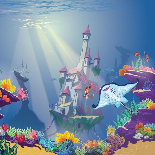 Underwater mural :)