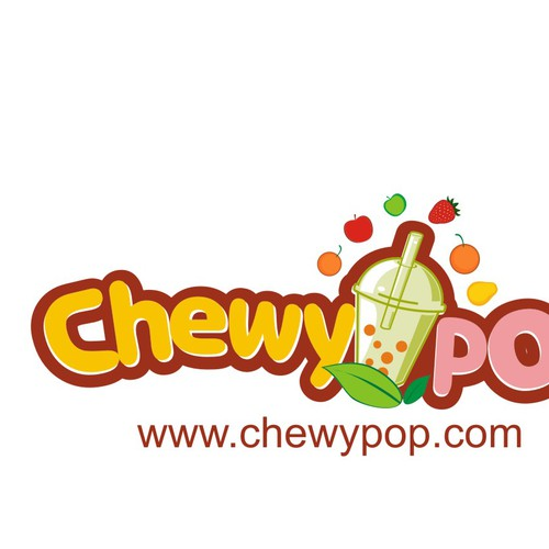 Create the next logo for chewy pop