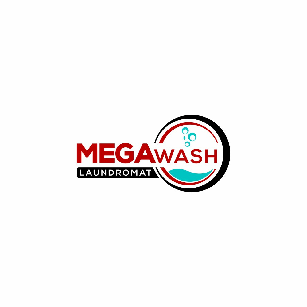 Design Clean Modern Logo for MegaWash!