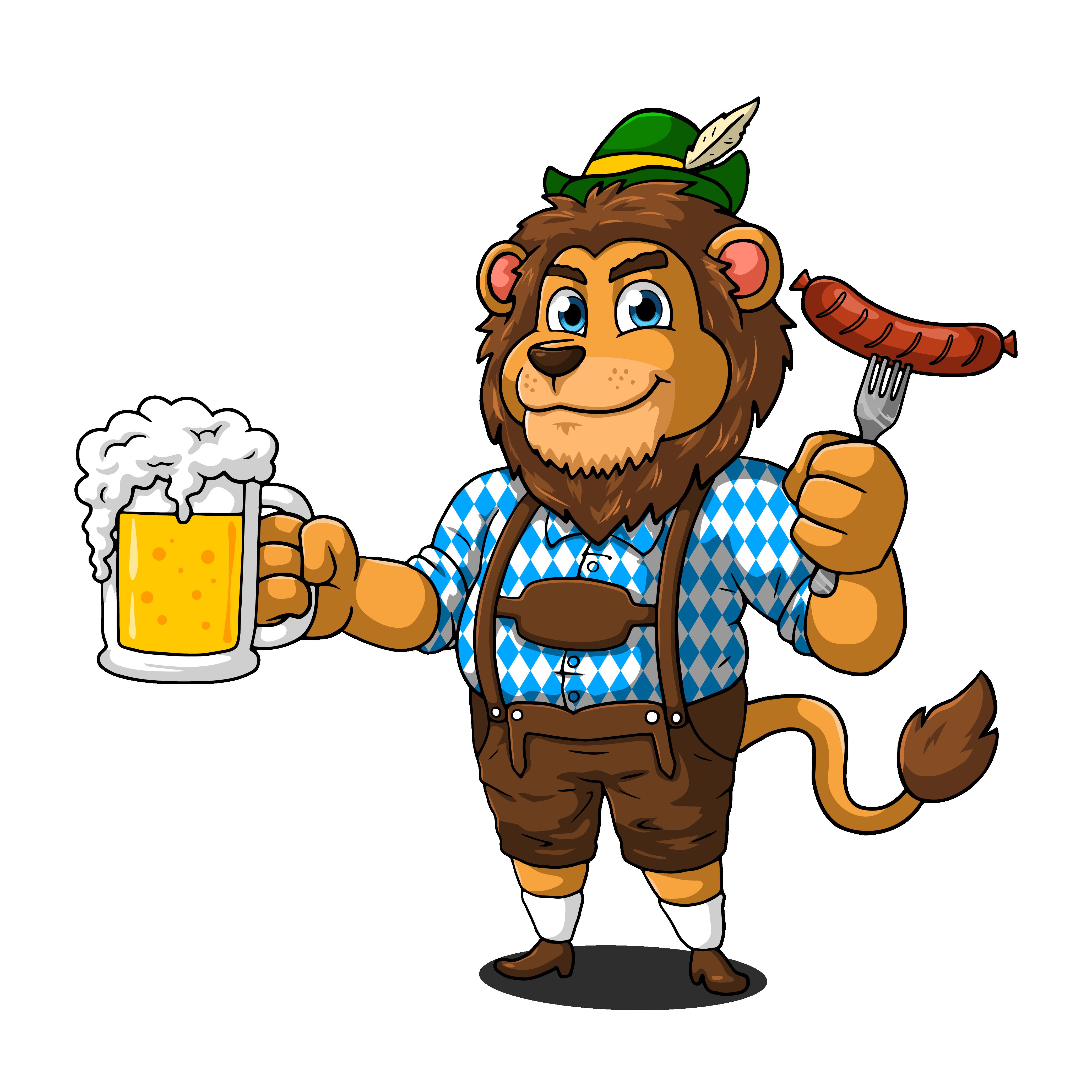 Beergarden Brats Food Truck Logo for Website