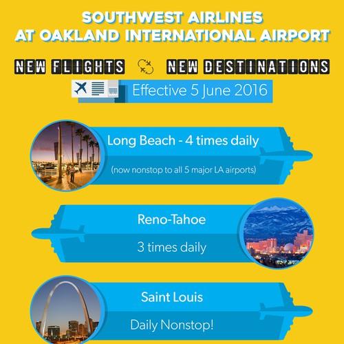 design for new flight schedule