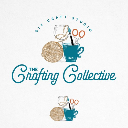 The Crafting Collective Logo